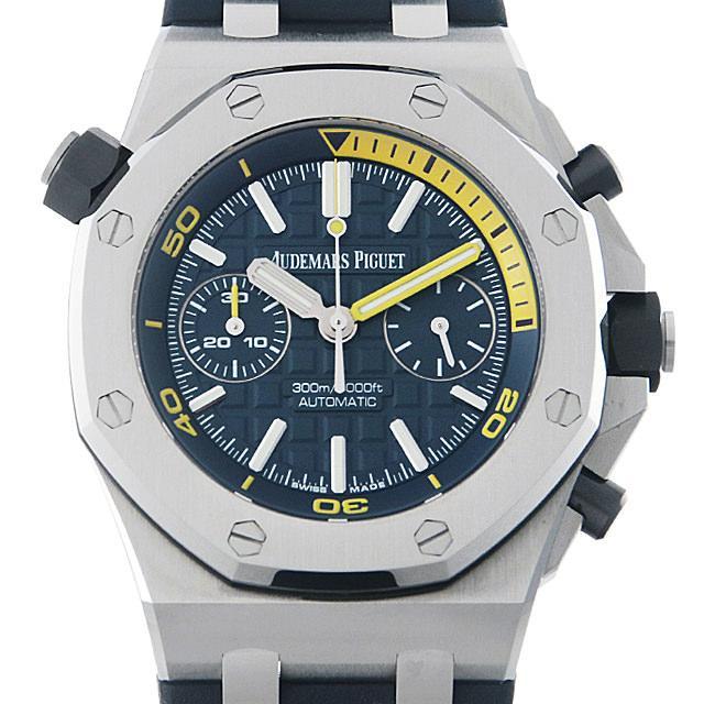 オーデマピゲ ロイヤルオーク オフショア ダイバー クロノグラフ 26703ST.OO.A027CA.01 メンズ(04DUAPAU0001) 中古 腕時計 送料無料