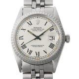 ロレックス デイトジャスト 22番 1603 ホワイト/ローマ メンズ(008WROAA0032) アンティーク 腕時計 送料無料