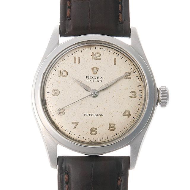 ロレックス オイスター 4499 シルバー/アラビア メンズ(006XROAA0099) アンティーク 腕時計 送料無料
