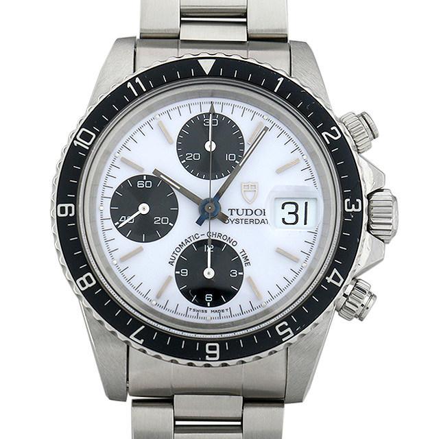チュードル クロノタイム 79170 ホワイト メンズ(006XTUAU0031) 中古 腕時計 送料無料