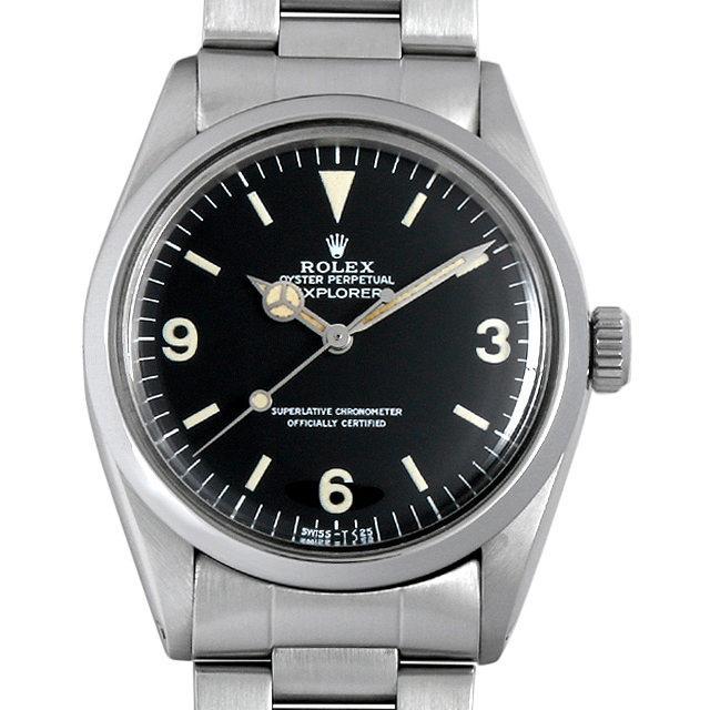 ロレックス エクスプローラーI 80番 1016 メンズ(0BIIROAA0001) アンティーク 腕時計 送料無料
