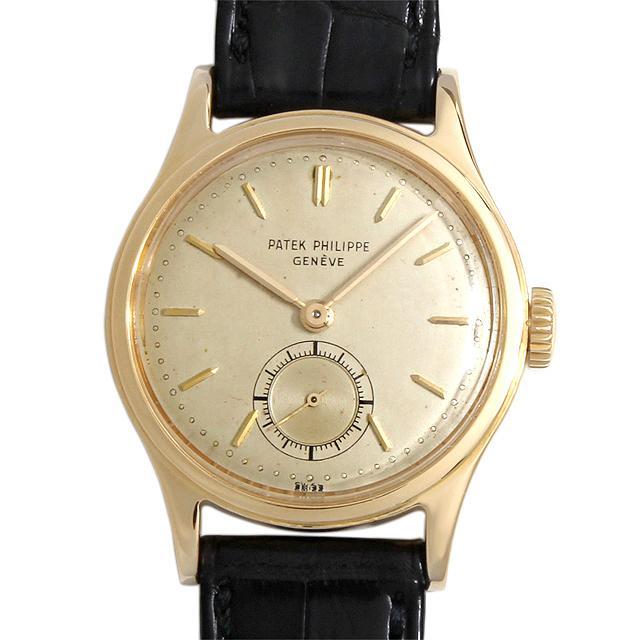 パテックフィリップ カラトラバ 2451 メンズ(006XPPAA0006) アンティーク 腕時計 送料無料