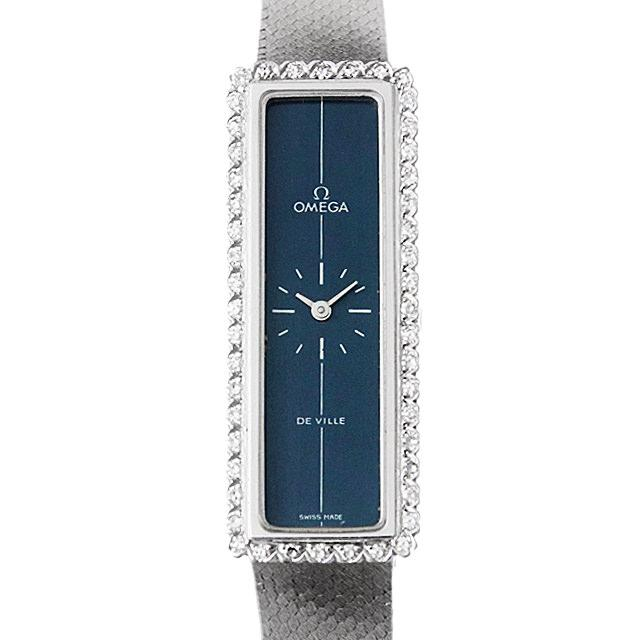 オメガ デ・ヴィル レクタンギュラー ベゼルダイヤ 3275 レディース(0DF7OMAA0001) アンティーク 腕時計 送料無料