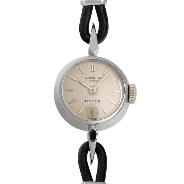 パテックフィリップ カクテルウォッチ BEYER Wネーム 3306/1 レディース(006XPPAA0009) アンティーク 腕時計 送料無料