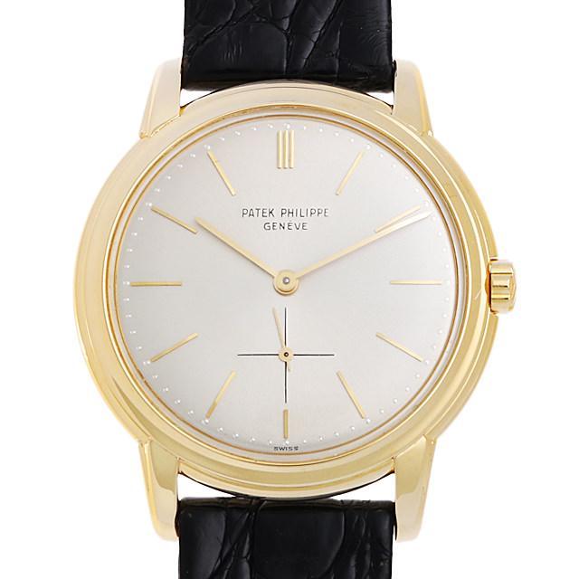 パテックフィリップ カラトラバ cal:27-460 3433J メンズ(0BCCPPAA0001) アンティーク 腕時計 送料無料