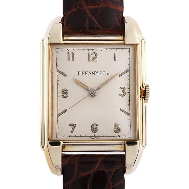 ティファニー レクタンギュラー モバード 43869 レディース(006XTIAA0001) アンティーク 腕時計 送料無料