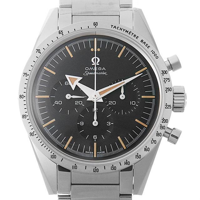 オメガ スピードマスター 1957トリロジー 60周年リミテッドエディション 311.10.39.30.01.001 メンズ(0DF7OMAS0001) 中古 未使用 腕時計 送料無料