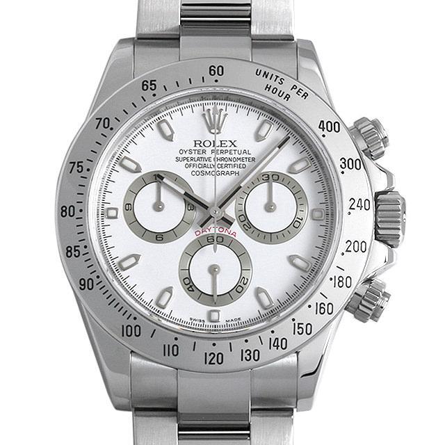 ロレックス コスモグラフ デイトナ M番 116520 ホワイト メンズ(009MROAU0156) 中古 腕時計 送料無料