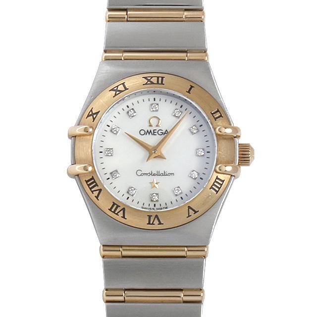 オメガ コンステレーション ミニ 12Pダイヤ 1262.75 レディース(009MOMAU0043) 中古 腕時計 送料無料