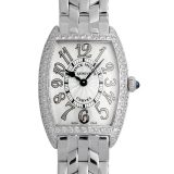 フランクミュラー トノーカーベックス ケースダイヤ 1752QZD REL OG レディース(006XFRAU0103) 中古 腕時計 送料無料