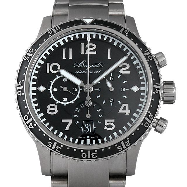 ブレゲ タイプXXI 3810TI/H2/TZ9 メンズ(0063BCAU0003) 中古 腕時計 送料無料