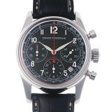 ジラールペルゴ ラリーモンテカルロ 1965 クロノグラフリミテッド 49460-11-611-0 メンズ(0EOOGIAU0001) 中古 腕時計 送料無料