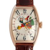 フランクミュラー ワールドワイド ヨーロッパ 5850WW 5N メンズ(009FFRAU0001) 中古 腕時計 送料無料