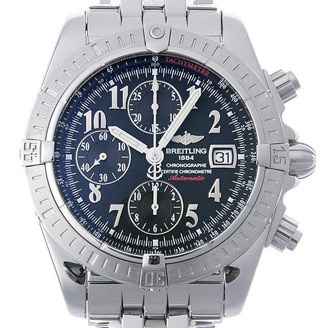 ブライトリング クロノマット エボリューション 日本限定400本 A156B15PA(A13356) メンズ(008WBRAU0038) 中古 腕時計 送料無料