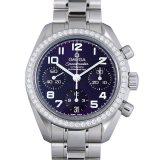 オメガ スピードマスター ベゼルダイヤ 324.15.38.40.10.001 レディース(0FCEOMAU0001) 中古 腕時計 送料無料