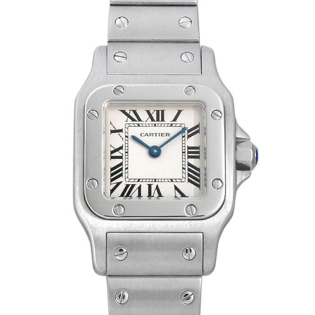 カルティエ サントスガルベ SM W20056D6 レディース(006XCAAU0139) 中古 腕時計 送料無料