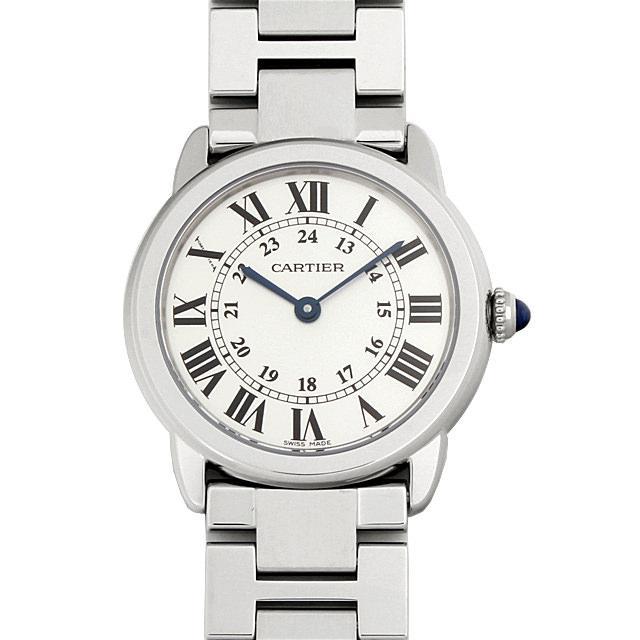 カルティエ ロンドソロ ドゥカルティエ SM W6701004 レディース(009FCAAS0019) 未使用 腕時計 送料無料