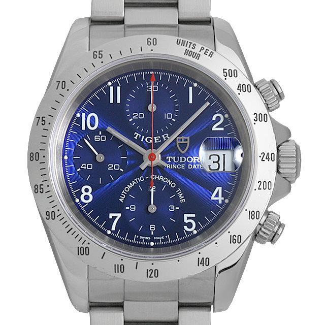 チュードル クロノタイム 79280P ブルー メンズ(001HTUAU0005) 中古 腕時計 送料無料