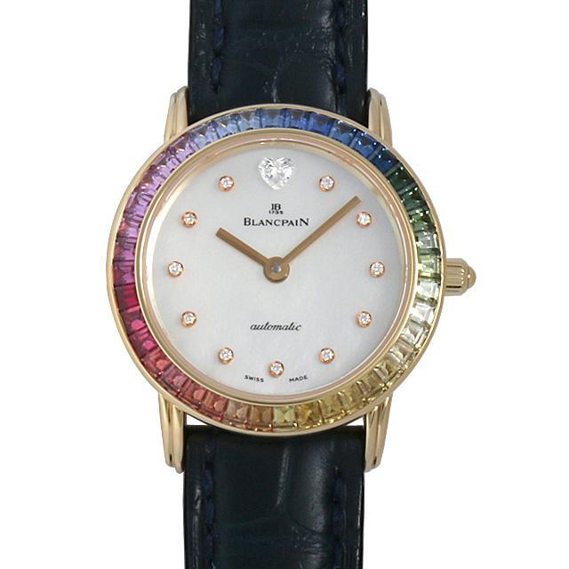 ブランパン レディバード レインボー レディース(0BCCBPAU0002) 中古 腕時計 送料無料