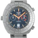 タグホイヤー カリキュレーター クロノグラフ 110.633 ネイビー メンズ(006THERA0002) アンティーク 腕時計 送料無料