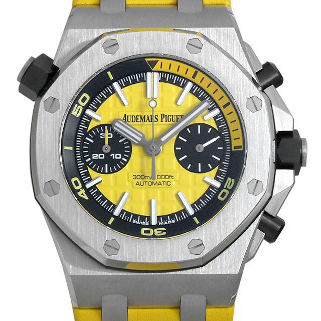 オーデマピゲ ロイヤルオーク オフショアダイバー クロノグラフ ブティック限定 26703ST.OO.A051CA.01 メンズ(049RAPAU0001) 中古 腕時計 送料無料