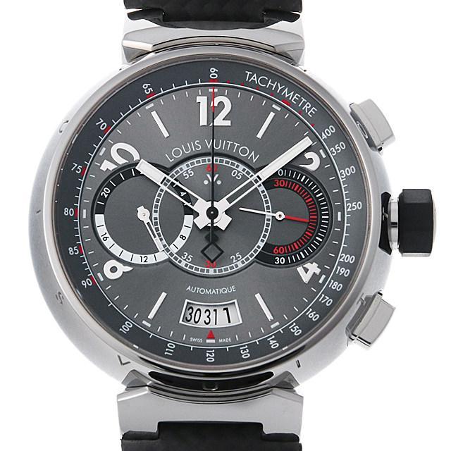 ルイヴィトン タンブールクロノ ヴォワイヤージュ 世界888本限定 Q102N メンズ(008WLVAU0008) 中古 腕時計 送料無料