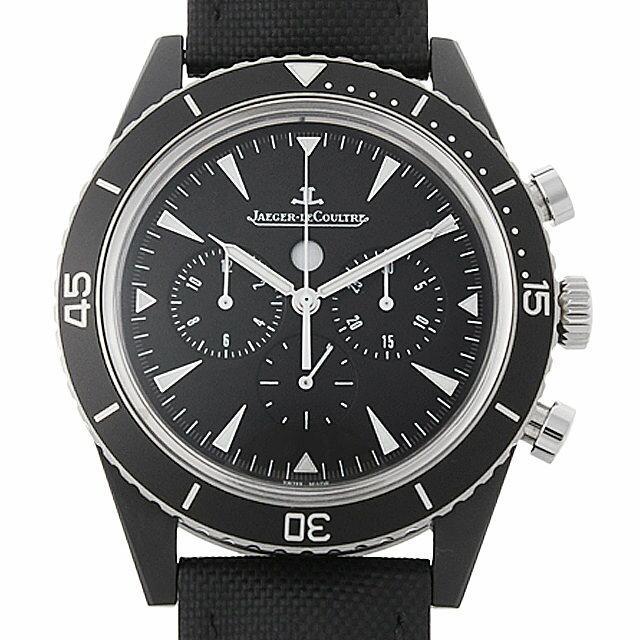 ジャガールクルト ディープシー クロノグラフ サーメット Q208A570 メンズ(0JB8JLAU0001) 中古 腕時計 送料無料