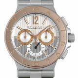 ブルガリ ディアゴノ カリブロ303 DG42C6SPGLDCH メンズ(006XBVAU0011) 中古 腕時計 送料無料