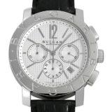 ブルガリ ブルガリブルガリ クロノグラフ BB42SLCH メンズ(006XBVAU0012) 中古 腕時計 送料無料