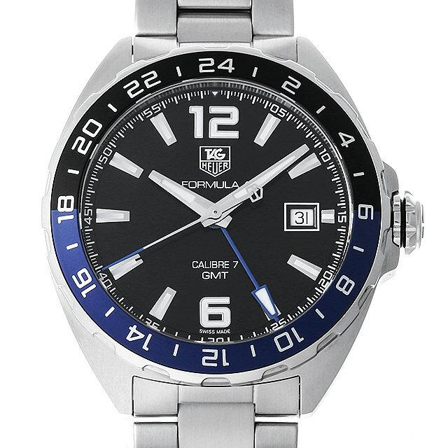 タグホイヤー フォーミュラ1 キャリバー7 GMT WAZ211A.BA0875 メンズ(0A89THAU0018) 中古 腕時計 送料無料