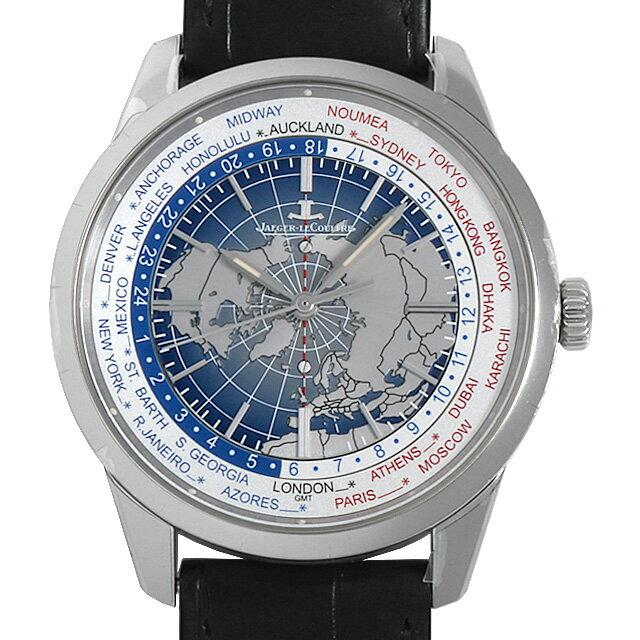 ジャガールクルト ジオフィジック ユニバーサルタイム Q8108420(503.8.T2.S) メンズ(001HJLAS0001) 中古 未使用 腕時計 送料無料