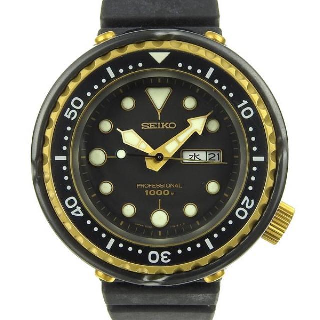 SEIKO セイコー プロフェッショナル 1000m メンズ クォーツ腕時計 7C46-7008 時計 中古 美品