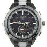 SEIKO セイコー アストロン GPS メンズ 電波ソーラー 腕時計 黒文字盤 8X53-0AG0-2/SBXB071 時計 中古 美品