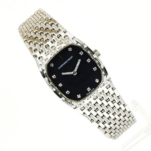 AUDEMARS PIGUET オーデマピゲ ホワイトゴールド ダイヤモンド 18金 レディースウォッチ 女性腕時計 人気ブランド時計 おしゃれ 中古 a03409 KOJIYA