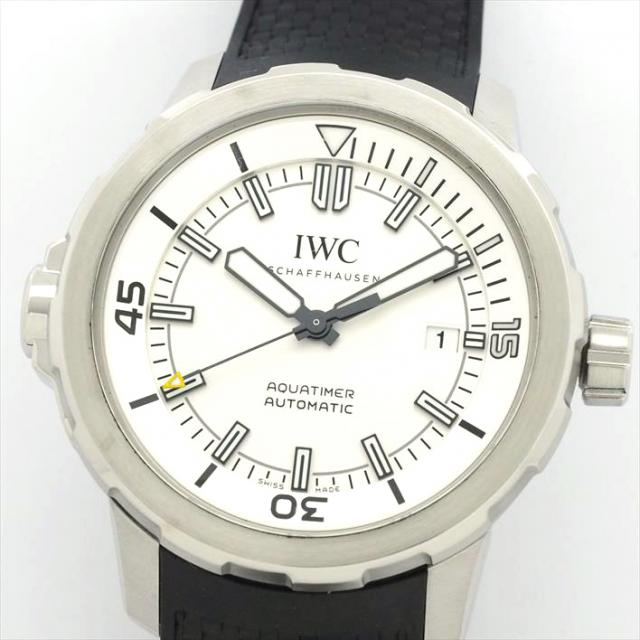 IWC インターナショナル・ウォッチ・カンパニー アクアタイマー IW329003 中古 メンズ 腕時計 バレンタインデー ギフト オーバーホール・新品仕上げ済み