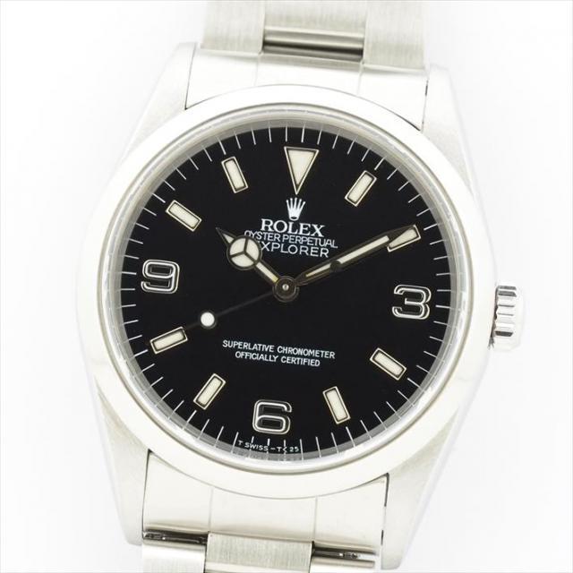 ROLEX ロレックス エクスプローラーI 14270 中古 メンズ 腕時計 オーバーホール・新品仕上げ済み