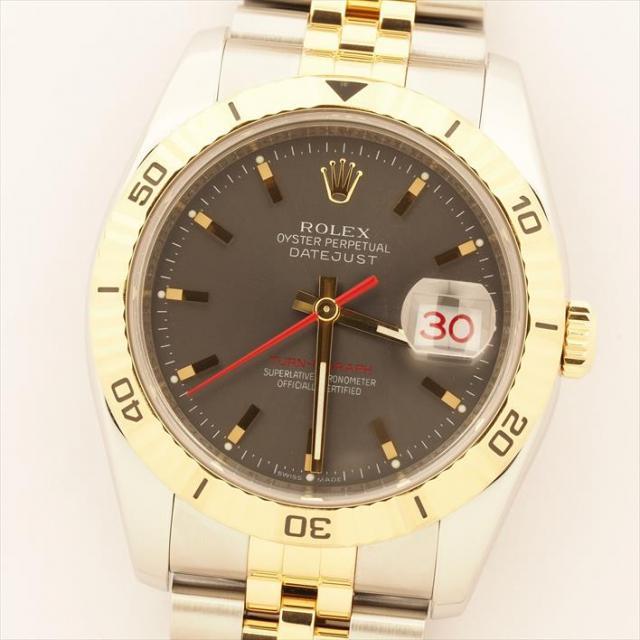 ROLEX ロレックス デイトジャスト ターノグラフ 116263 中古 メンズ 腕時計 オーバーホール・新品仕上げ済み