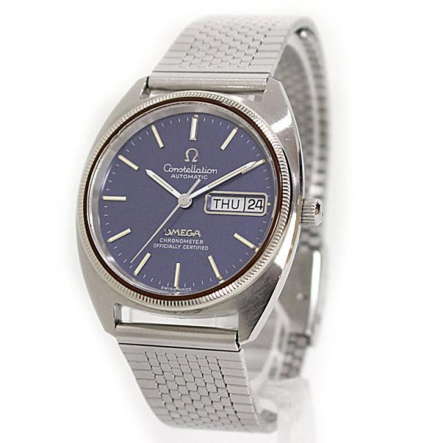オメガ コンステレーション デイデイト クロノメーター 腕時計 1680057 中古