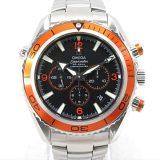 オメガ シーマスター プラネットオーシャン 腕時計 ウォッチ メンズ ステンレススチール(SS) (2218.50) 中古