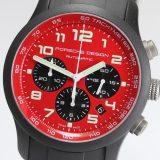 PORSCHE DESIGN ポルシェデザイン P6612 ダッシュボード 6612.17.86.1139 クロノグラフ 自動巻き メンズ腕時計 /箱・保証書つき 中古