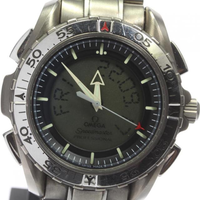 OMEGA オメガ スピードマスター プロフェッショナル X-33 3290.50 チタン クォーツ メンズ 171005 箱保
