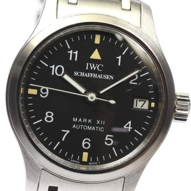 IWC インターナショナル 4221-002 マークXII 自動巻き 純正ブレス レディース 中古 171124