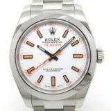 ROLEX(ロレックス)ミルガウス Ref.116400 ランダム番 白文字盤 自動巻き Ceやしろ店 中古 美品