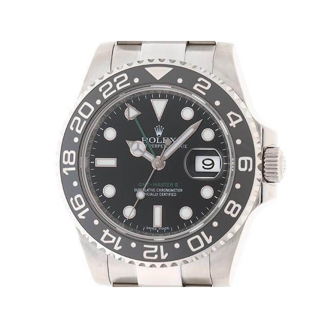 ROLEX ロレックス 時計 GMTマスター2 116710LN オートマチック ステンレス ブラック ランダム 200 中古 大黒屋