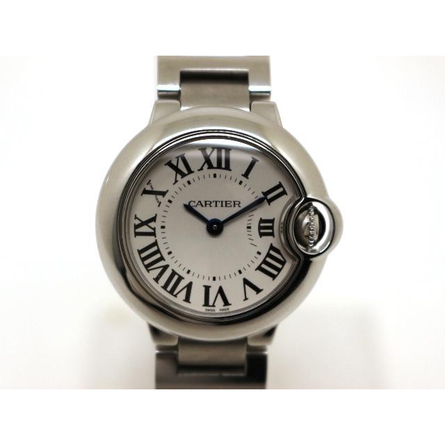 watch 3f7ab bd8e0 Cartier カルティエ 時計 バロンブルーSM W69010Z4 クォーツ ...