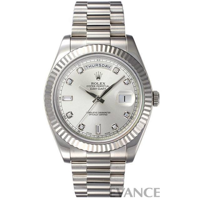 ロレックス デイデイト 218239Aシルバー 中古 腕時計