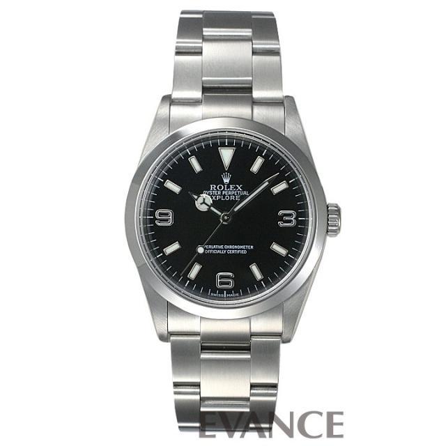 ロレックス エクスプローラーI 114270 中古 腕時計