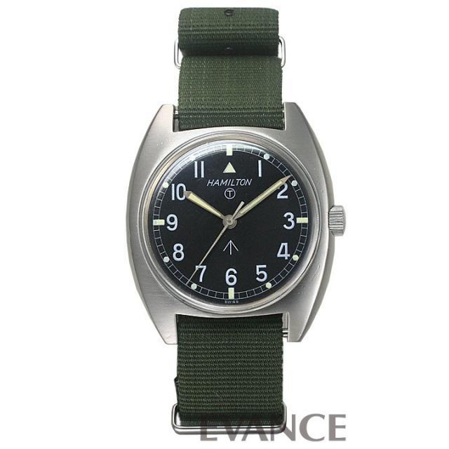 HAMILTON ハミルトン ミリタリー(英国陸軍モデル)W10 アンティーク 腕時計