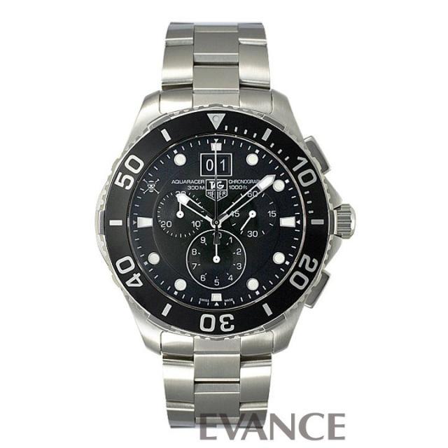 タグホイヤー アクアレーサー クロノ CAN1012.BA0821 2012年日本限定250本 メンズ TAG HEUER 中古 腕時計