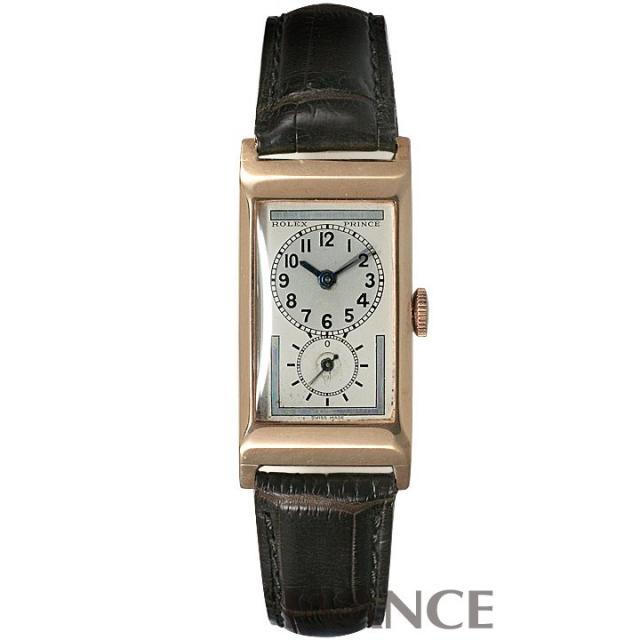 ロレックス プリンス シルバー アラビア メンズ ROLEX アンティーク 腕時計